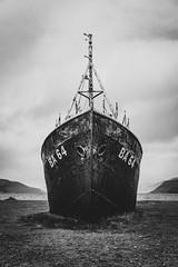 Garðar (Christoph Wenzel) Tags: urbex boot tamron18200mmf3563vc sonyalpha6000 urlaub wasser island blackandwhite bw landschaft natur herbst vesturbyggð vestfirðir is