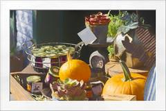 Fall Harvest goods (Karon Elliott Edleson) Tags: losolivos winecountry harvest goods fall autumn jellies jam pumpkins