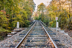 Tiprell Railroad Bridge (Back Road Photography (Kevin W. Jerrell)) Tags: bridge railroad claibornecounty tiprell tennessee autumn autumncolors backroadphotography nikond7200 fall pointoffocus pointofview trespassing