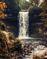Just one day (Vasil1978) Tags: ngc waterfall composition colors stones river tc twincity minnesota minneapolis nature landscape park