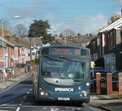 First AU58FFL 29 March 2018 (The original SimonB) Tags: transport buses ipswich suffolk march 2018