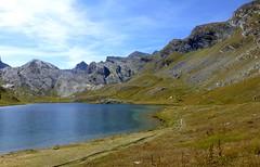 lac du Lauzanier (b.four) Tags: mountain montagne montagna lago lac lake larche hauteubate alpesdehauteprovence coth5