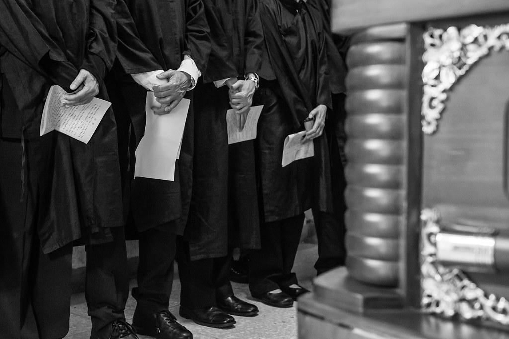 喪禮記錄-新北市立板橋殯儀館-教會喪禮儀式