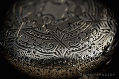 Silver pocket watch. (Steve.T.) Tags: macrophotography macro silver ornate watch timepiece closeup detail d7200 nikon sigma18200 raynoxdcr250 antique vintage vintagewatch pocketwatch retro jewellery bygone