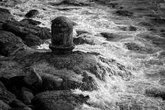 Rough 'n ready (James Waghorn) Tags: seaweed folkestone nikon d7100 water rocks blackandwhite sea kent silverefexpro2 waves tamronsp70300f456vcusd england
