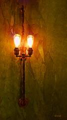 Vintage_pe (creepingvinesimages) Tags: vintage lights texture lighting wall portland oregon samsung galaxy s9 pse14 topaz smart photo edito