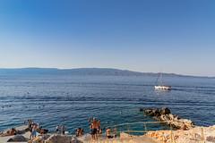 Splia Hydra island Greece