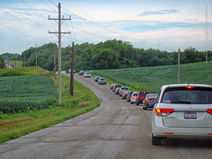 Post-Eclipse Traffic Jam, 21 Aug 2017 (photography.by.ROEVER) Tags: kansas drive driving driver driverpic ontheroad road highway august 2017 august2017 eclipse solareclipse totaleclipse totalsolareclipse troy doniphancounty trafficjam usa