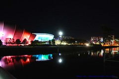 SSE Hydro ~ Glasgow ~ Scotland.... (law_keven) Tags: ssehydro glasgow scotland photography nightphotography reflections canal water travel holiday