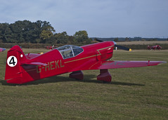 Shuttleworth Race Day Airshow 2018 (ST 251) Tags: shuttleworth old warden pageant air show airshow flying vintage classic beale replica percival mew gull ghekl