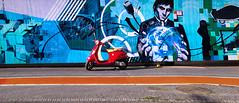 Driving into the Matrix (Thomas +/-) Tags: scooter street art streetart matrix cologne