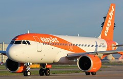 G-UZHK (AnDyMHoLdEn) Tags: easyjet a320 neo egcc airport manchester manchesterairport 23l