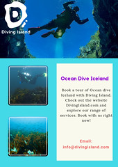 Diving Tours In Silfra (divingislandonline) Tags: diving tours in silfra drysuit course iceland