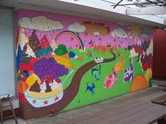 OH Yellow Springs - Mural 4 (scottamus) Tags: yellowsprings ohio greenecounty mural painting building art graffiti