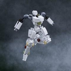 Simplemecha unit (ControlAltBrick) Tags: lego robot mech mecha blender ldd moc mecabricks gundam gunpla