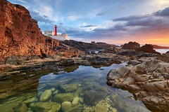 Warm Light [house] (CResende) Tags: lighthouse cascais portugal travel cresende water seascape sunset warm light reflection sun sea landscape fujifilm xt3 x ocean clouds color colourful toy 1024