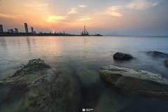 Kuwait - Salmiya - High Clouds Sunset (Sarah Al-Sayegh Photography | www.salsayegh.com) Tags: kuwait salmiya sunset photography urban infosalsayeghcom wwwsalsayeghcom sarahhalsayeghphotography sonya7riii sonyalpha sony leefilter seaside seascape