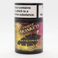 TWELVE MONKEYS - MACARAZ - 6x10ML - E-LIQUID (VAPEPRODUCTPHOTOS) Tags: eliquid vape vaping vapour oxford twelve monkeys twelvemonkeys 10ml 3mg box pg vg 500px tpd high