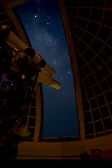 If everyone could see through this telescope, the world would be different (pbuschmann) Tags: nightshot griffithparkobservatory stars losangelesicon california space