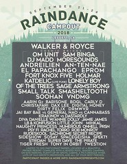 raindance campout 2018 (citymaus) Tags: raindance campout festival musicfestival music flyer dirtybird cosmic bridge 2018 norcal bass