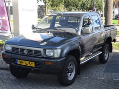 1990 Volkswagen Taro 4x4 (harry_nl) Tags: netherlands nederland 2018 nieuwegein volkswagen taro vh13sy sidecode4 grijskenteken tcar