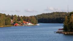 Sweden sea landscape (HansPermana) Tags: stockholm sweden schweden sverige nordic scandinavia skandinavien islands hafen hafenstadt eu europe europa summer august 2018