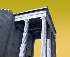 Pop ruins (Guillaume_ARNAUD) Tags: pop art colours grece athenes acropole greece