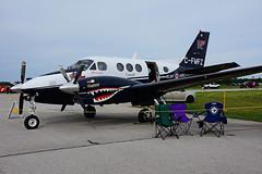 C-FMFZ (KF - RCAF-ARC) (Steelhead 2010) Tags: alliedwings kfaerospace beechcraft c9 kingair rcaf arc yxu creg cfmfz