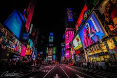 Times Square (corineouellet) Tags: nightphoto nights travel canonphoto canoncanada canon nyc city cityscape buildings architecture nightscape nightlights street streetphoto lights timessquare newyork newyorkcity