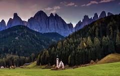 Chiesa San Giovanni in Ranui (giannipiras555) Tags: dolomiti montagna alberi natura chiesa autunno landscape panorama paesaggio trentino ranui
