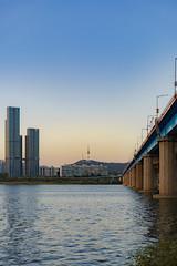 Han River, Seoul (Hanyeon Lee) Tags: river 한강 서울 seoul sonnartfe1855
