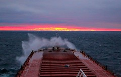 Superior Sunset & Spray (knutsonrick) Tags: