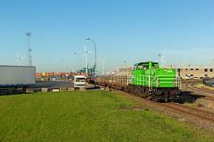 RTX 6482 + rongenwagens (Durk Houtsma.) Tags: rtx waaslandhaven 6482 antwerpen rongenwagen ico railtraxx rongenwagens linkeroever beveren oostvlaanderen belgië be