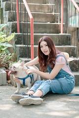 DSC_4762 (錢龍) Tags: 張倫甄 光復新村 外拍 時裝 眷村 nikon d850 cute girl 人像 甜美 長髮