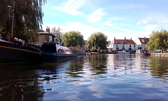 Ely, Cambridgeshire (dickieb62) Tags: river ely cambridgeshire boats scenery 1025fav