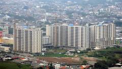 Apartemen Paradise Mansion (Ya, saya inBaliTimur (leaving)) Tags: aerialview fotoudara jakarta building gedung architecture arsitektur apartment apartemen