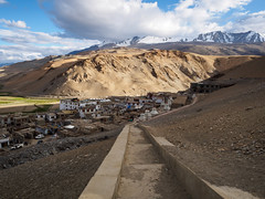 Korzok Village, Tso Moriri, Ladakh (B_Diana) Tags: ladakh india olympus omdem5 1240mm landscape korzok village mountain peak snow roadtrip travel