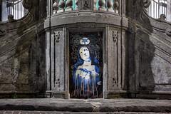 Naples d'hier et d'aujourd'hui (nietsab) Tags: bleu naples napoli italie canon 600d 24mm nietsab centre historique centro storico crl street art