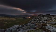 Fake Sunrise....... (gavsidey) Tags: higger tor derbyshire clouds ngc d500 manchester fake sunrise