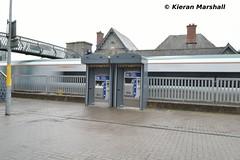 22012+22063 arrive at Portarlington, 22/9/18 (hurricanemk1c) Tags: railways railway train trains irish rail irishrail iarnród éireann iarnródéireann portarlington 2018 22000 rotem icr rok 22012 22063 0930galwayheuston