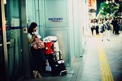 Waiting (jaxting) Tags: jaxting 東京 tokyo people street candid provia400x reversalfilm filmisnotdead istillshootfilm noctilux leica