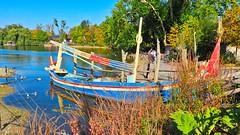 Boat - 6034 (ΨᗩSᗰIᘉᗴ HᗴᘉS +24 000 000 thx) Tags: boat p1000 nikonp1000 coolpixp1000 pairidaiza blue water hensyasmine namur belgium europa aaa namuroise look photo friends be wow yasminehens interest intersting eu fr greatphotographers lanamuroise