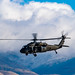 IDAHO NATIONAL GUARD UH-60L BLACKHAWK AGAINST IDAHO CLOUDS & MOU