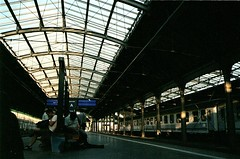 (freightvampire) Tags: 35mm poland train station