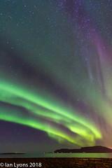 Aurora Borealis - Kirkjufell, Iceland (IanLyons) Tags: iceland nature westernregion snaefellsnesspeninsula kirkjufell places auroraborealis europe kirkjufellfoss northernlights