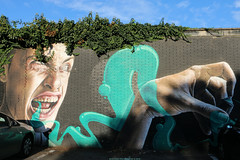 Mural painted by SMUG (Rick & Bart) Tags: hasselt belgium limburg streetart art rickvink rickbart graffiti canon eos70d mural city urban smug