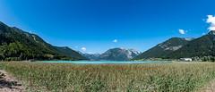 Achensee in Österreich 351 (Peter Goll thx for +11.000.000 views) Tags: 2018 d850 lake nikon österreich alps bench see bank berge mountain nikkor tirol alpen achensee ebenamachensee at