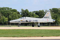 N685TC, Northrop F-5A, Oshkosh 2018 (ColinParker777) Tags: n685tc northrop aviation f5 f5a plane airplane aircraft fighter jet military usaf us united states air force landing rollout private fa685 usa america oshkosh kosh osh airventure eaa experiments association wi wisconsin 2018 canon 7d 7d2 7dmk2 7dmkii 7dii 100400 l lens mk2 mkii pro zoom telephoto
