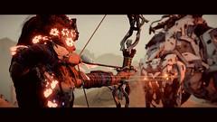 the Girl whit her bow (lazso) Tags: horizon zero dawn videogame art photo lovuguys 7