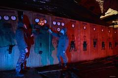 Vault Tec (Bo Ragnarsson) Tags: vault vaulttec vault76 fallout shelter gasmask radioactive radiation nuclear boragnarsson vault101